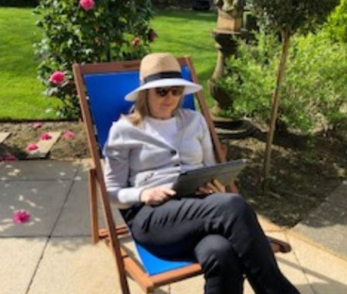 A social distancing outdoor screening
